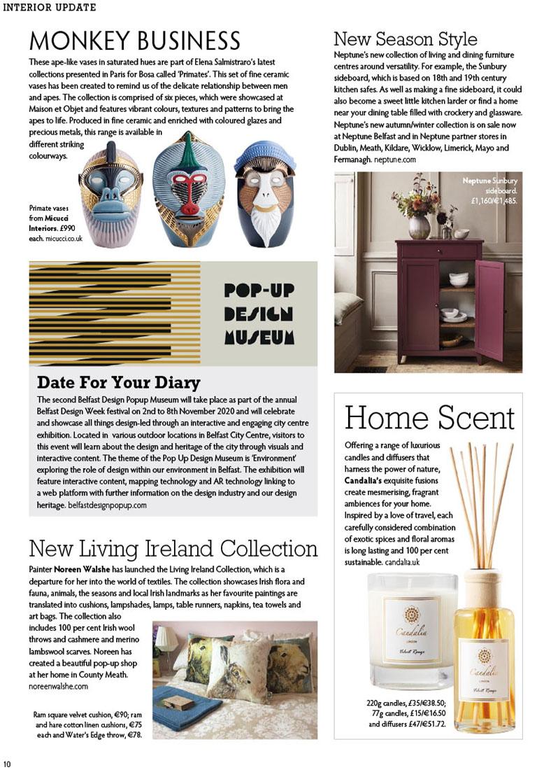 Candalia - Ireland's Homes Interiors & Living Magazine NOV-20