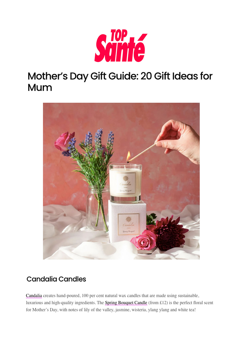 Candalia - Top Sante Mothers Day Gift Ideas Guide